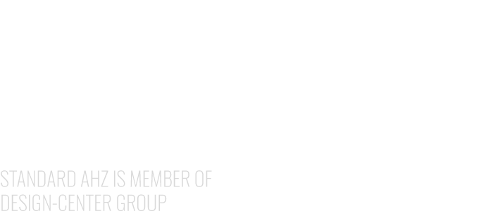 STANDARD AHZ IS MEMBER OF DESIGN-CENTER GROUP